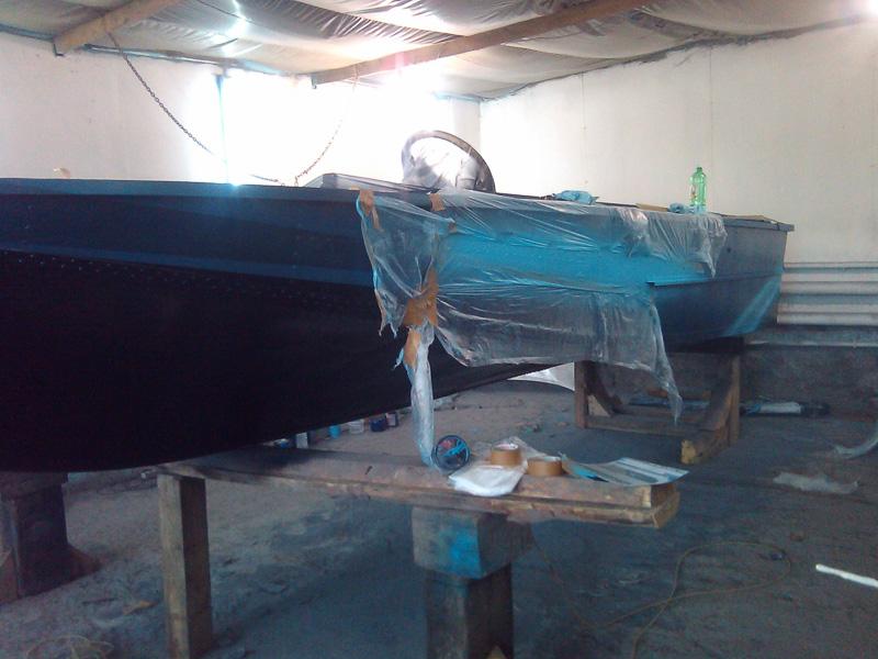 Роспись катера «Амур»
