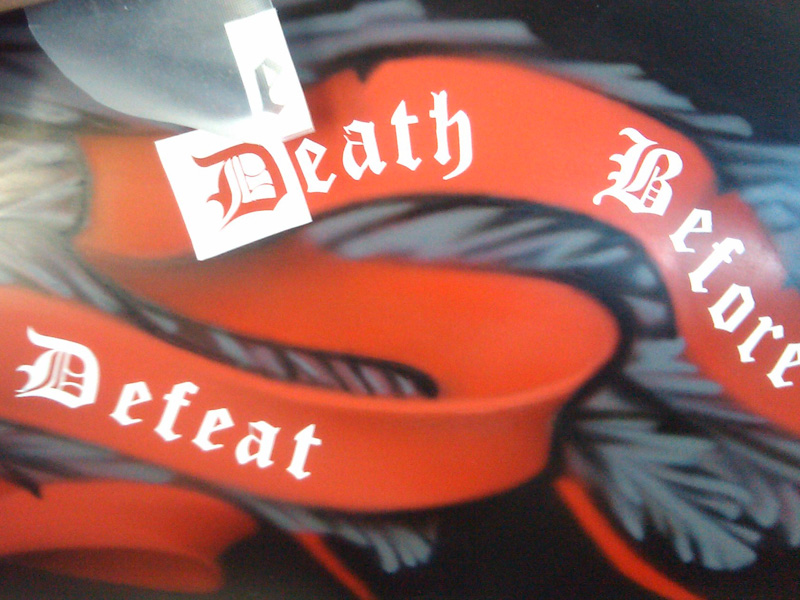 Death before defeat