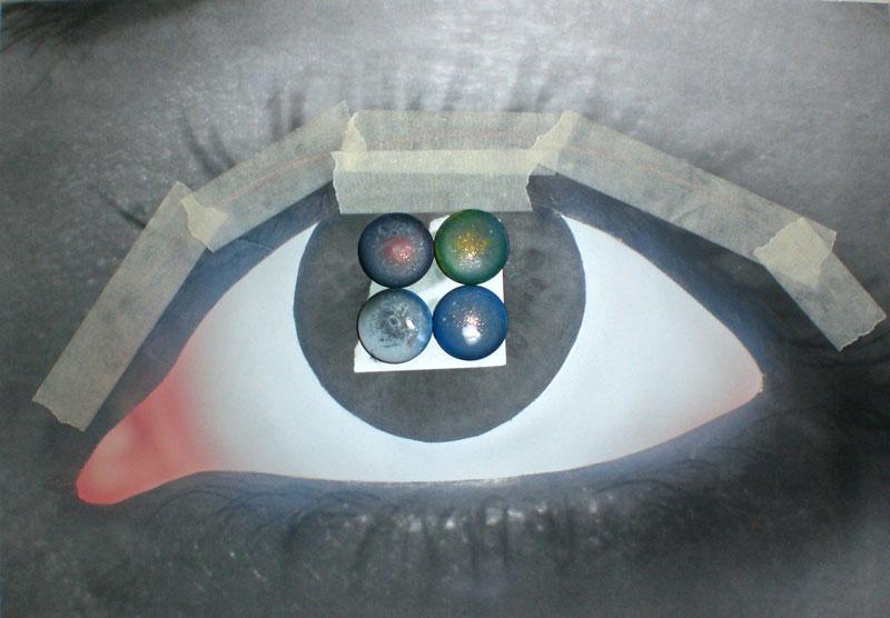 Создание работы «Глаз»