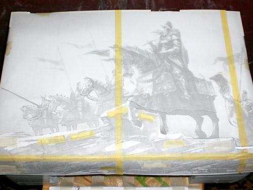 Рыцари на принтере