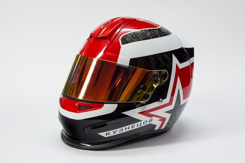 Оформление шлема «Белл»