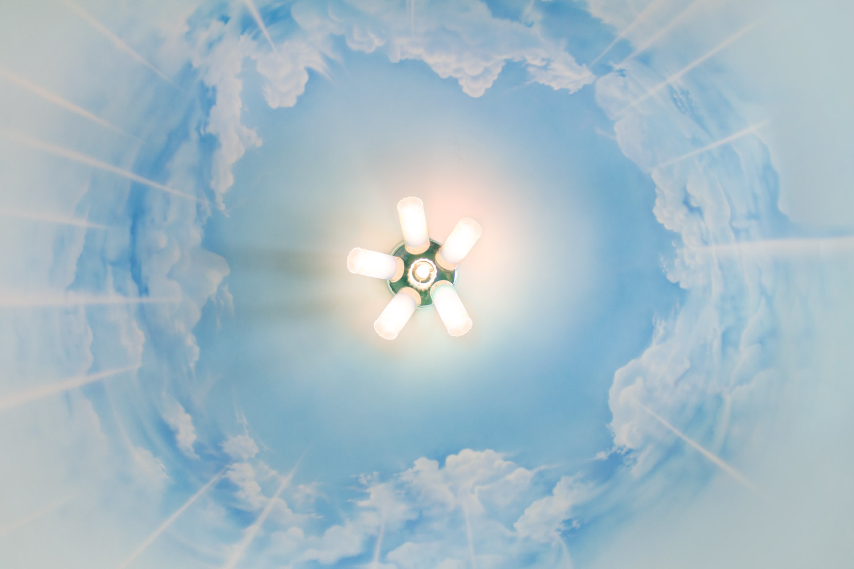 Облака на потолке