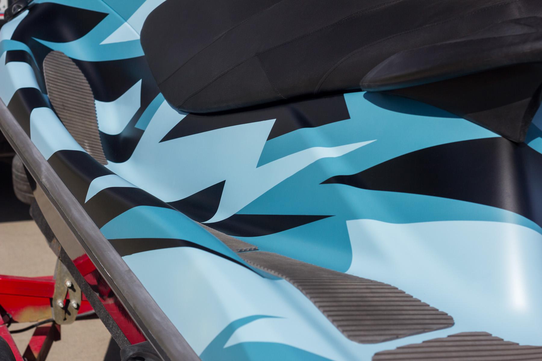 Камуфлированный гидроцикл