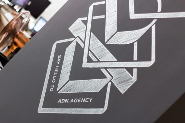 Скетч-роспись в офисе диджитал-агентства