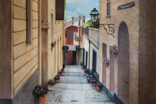 Улица в итальянском городке