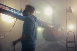 Роспись вертолета «Робинсон»